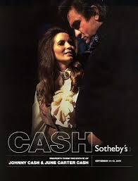 sothebys estate of johnny and june carter cash auction catalog