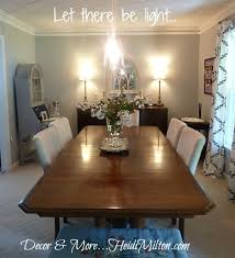 Diy Dining Room by Leap Of Faith Decor Project Dining Room Light Fixture