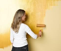 wandgestaltung gold schöner wohnen farbe wandgestaltung schöner wohnen