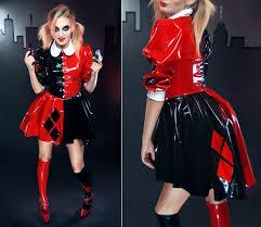 Halloween Costume Harley Quinn Harley Quinn Cosplay Costume Pvc Dress 15112072 Cosercosplay