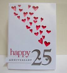 anniversary ideas for parents 25th wedding anniversary cards for parents gift ideas bethmaru