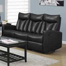 sleek recliner sofa beautiful leather recliner sofa sets solid wooden frame