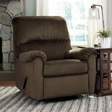 ashley bronwyn swivel glider recliner chairs u0026 recliners home