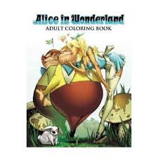 alice wonderland coloring book walmart