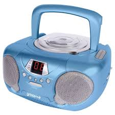 cd player kinderzimmer groov e boombox portable childrens blue cd player with radio