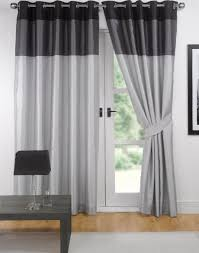 Types Of Curtains For Living Room Home Decor Living Room Spcetacular Gray And Black Curtain For