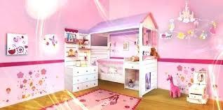 deco chambre princesse lit de fille decoration chambre 10 ans 8 un deco princesse
