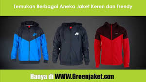 Jual Jaket Nike Parasut jual jaket parasut keren murah terbaru green jaket