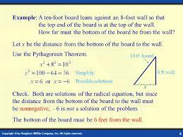 solving radical equations word problems worksheet tessshebaylo
