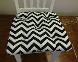 chevron chair cushion etsy