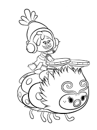 trolls coloring pages to download and print for free malebog