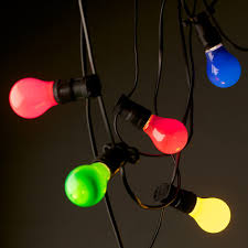 Colored Outdoor Light Bulbs Diy Colored Outdoor Lights Will Bring More Color Your Led