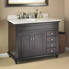 single sink vanity with drawers mayfield 42 single sink vanity mission hills furniture