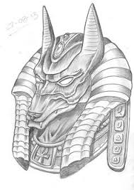 Anubis Tattoo Ideas Tattoo Of Egyptian God That Is Anubis God Of The Dead Protector