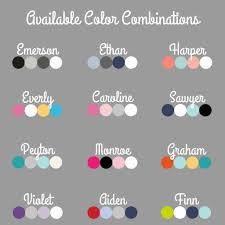 color combo outfit name only color combo with grey background boco baby