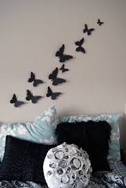 3d Bedroom Wall Paintings Free Shipping 20 3d Butterfly Wall Art Circle Burst By Leeshay