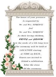 simple wedding invitation wording wedding invitation wording ideas just another site