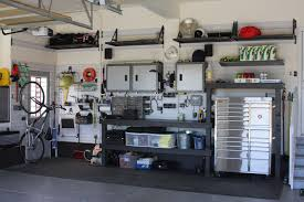garage good garage organization shelves with wall panel and