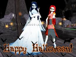 mmd happy halloween newcomers by heleannor on deviantart