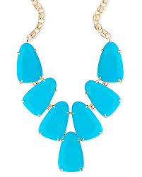 turquoise coloured necklace images Harlow gold statement necklace in turquoise kendra scott jpg