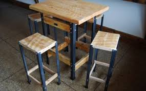 industrial style pub table elegant industrial style bar height table our portfolio pinterest