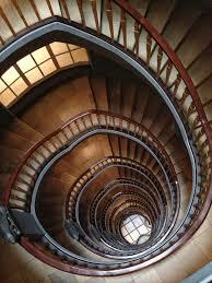 black circular staircase free stock photo
