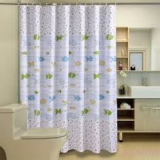Silver Shower Curtains Bathroom Shower Fish Shower Curtains Create An Exhilarating