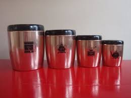 fashioned kitchen canisters 74 best vintage canisters images on vintage
