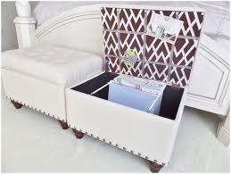 furniture thick foam magnificent fabric storage ottomans 5