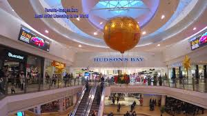toronto canada scarborough town centre with decorations