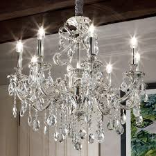 Esszimmer Lampe Ebay A237n Kristall Kronleuchter ø620mm Antik Flämisch Silber Lampe