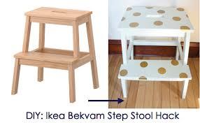 bekvam step stool a fun way to be creative with decals ikea hack ikea bekvam step