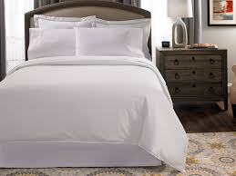 percale hotel quality plain white bedding set king duvet cover