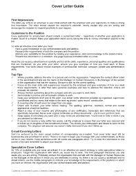 cover letter guide 28 images resume format resume cover letter