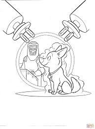 25 disney bolt coloring pages images animal