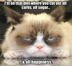 On A Diet Meme - this would not be a sustainable diet for me diet hobby