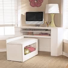 modern corner desk for kids carpet decoration created cozy