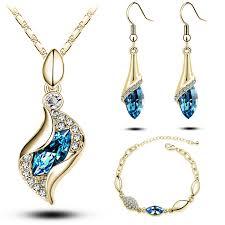 crystal design necklace images Austrian crystal jewelry set ace gems jpg