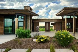 idaho house visionary residence in idaho comprised of rammed earth