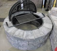 Stone Fire Pit Kit by Stone Fire Pit Kit Fire Pit Ideas
