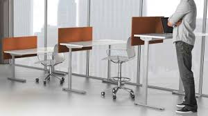 Office Furniture Modern Adjustable Height Desks Modern Office Furniture On Vimeo