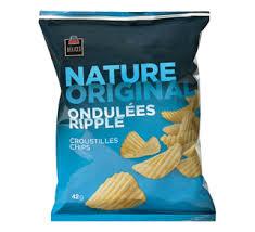 ripple chips ripple chips 42 g original pjc délices chips and pretzels