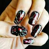 nail art gallery spider web nail art photos