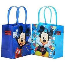 mickey mouse favor bags mickey mouse gift bags ebay