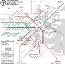 Map Of Boston by New T Map Chosen Builds On Existing Map Universal Hub