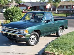 toyota trucks my first new car was a 1990 toyota pick up it only had 6 miles on