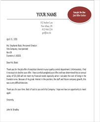 rejection thank you letter 9 free word pdf format download