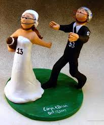 football cake toppers wedding cake topper of the day football cake topper custom