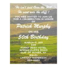 irish birthday invitations u0026 announcements zazzle