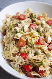 What Is Pasta Salad Caprese Pasta Salad